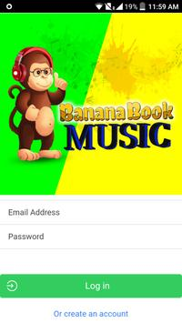 Bananabook Music screenshot 2