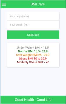 BMI Care poster