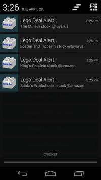 BrickGet - Best Lego Deals apk screenshot