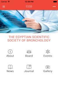 Egyptian Bronchology Society poster