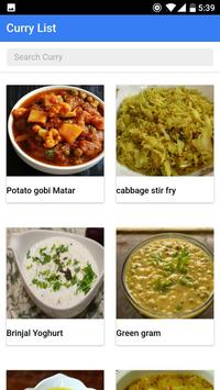 Indian Veg Curry poster