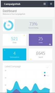CampaignHub - AdWords Optimisation Tool poster