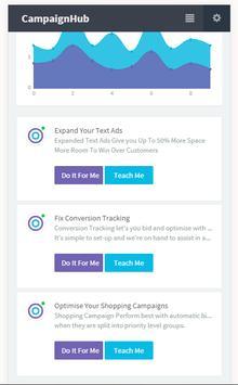 CampaignHub - AdWords Optimisation Tool apk screenshot
