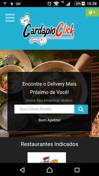 Cardápio Click Delivery screenshot 2
