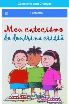 Catecismo para Crianças poster