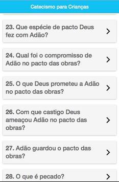 Catecismo para Crianças apk screenshot