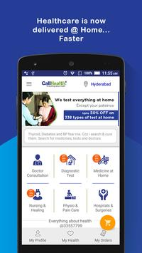 CallHealth –Avail Healthcare Services from Home poster