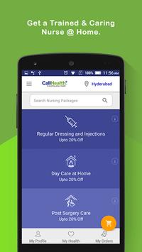 CallHealth –Avail Healthcare Services from Home apk screenshot