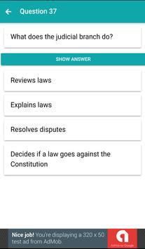 Citizenship Questions 2017 - us citizen apk screenshot