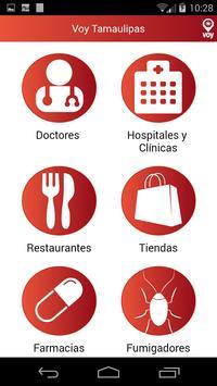 Voy Tamaulipas poster