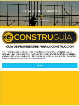 Construguia Bolivia screenshot 5