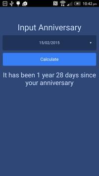 Date Tracker apk screenshot