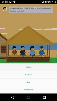 Desa Membangun poster