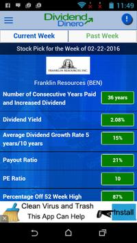 Dividend Dinero apk screenshot