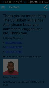 Dj Robert Ministries 스크린샷 3