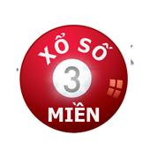 XO SO 3 MIEN - Dò Số Nhanh icon
