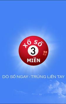 XO SO 3 MIEN - Dò Số Nhanh poster