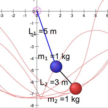 Double Pendulum Simulator screenshot 7