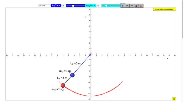 Double Pendulum Simulator screenshot 4