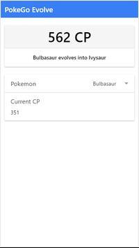 PokeGo Evolve apk screenshot