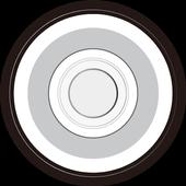 E-skateboard icon