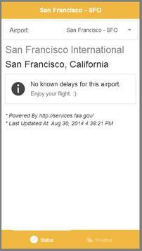 FAA Airport Delay and Weather screenshot 5