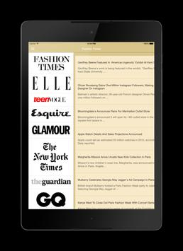 Fashion News apk screenshot