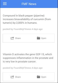 FoundMyFitness: Science FTW! apk screenshot