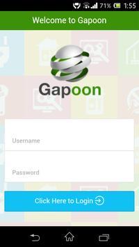 Gapoon Vendor App poster