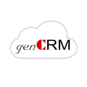 genCRM on mobile icon