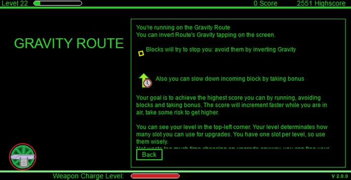 Gravity Route screenshot 2
