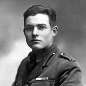 Ernest Hemingway in Oak Park icon