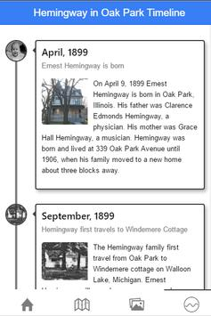 Ernest Hemingway in Oak Park apk screenshot