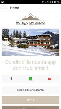 Hotel Cima Dodici poster