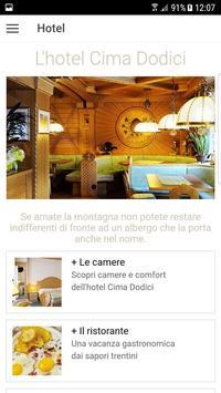 Hotel Cima Dodici apk screenshot