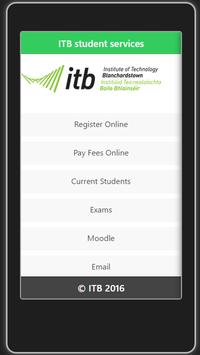 ITB Student Services apk screenshot