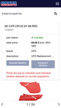 Parts Europe Inventory Search apk screenshot