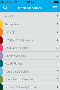 Koch Community Discounts screenshot 1