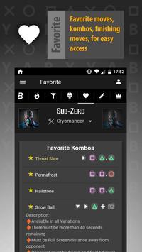 Kombat Kore FREE: MKX Moves apk screenshot
