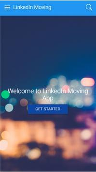LinkedIn MoveIn Dublin poster