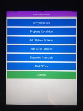 CSHS / MM - Job Report poster