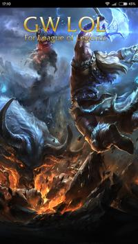 GWLoL for league of legends poster