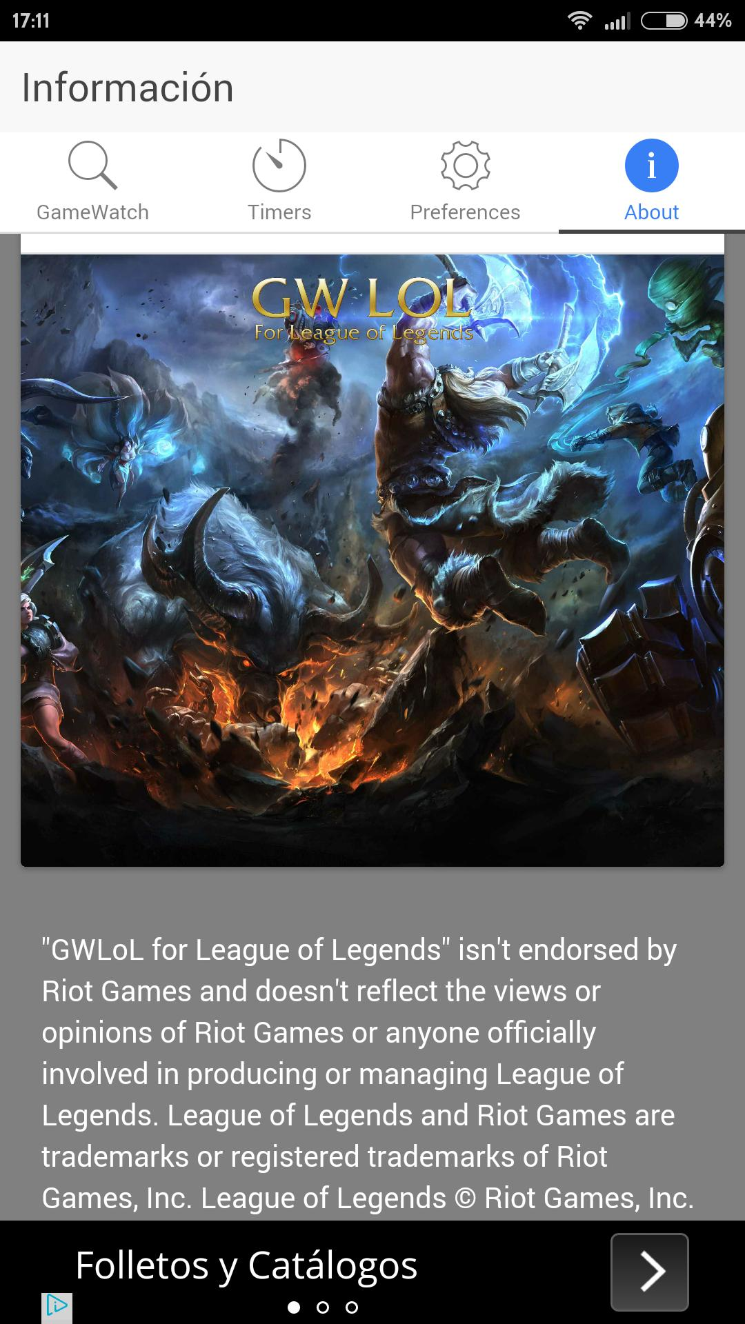 Gwlol For League Of Legends For Android Apk Download