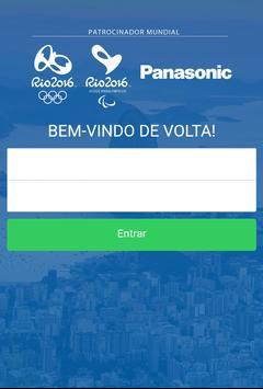 Panasonic Rio 2016 poster