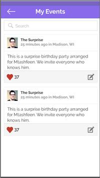 Wheres The Party App (MVP) screenshot 4