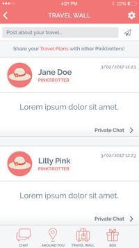 Pinktrotters apk screenshot