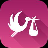 Baby-Stork icon