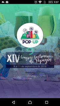 Popup Eventos poster