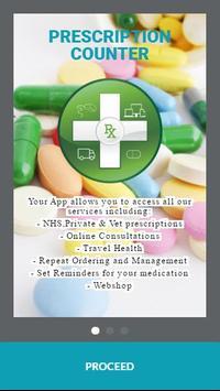 Prescription Counter poster