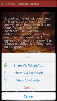Chuck berry Quotes apk screenshot